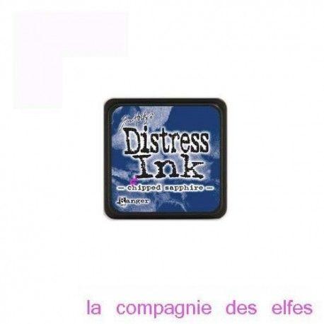 halloween 2/3 Mini-encreur-bleu-distress-sapphire