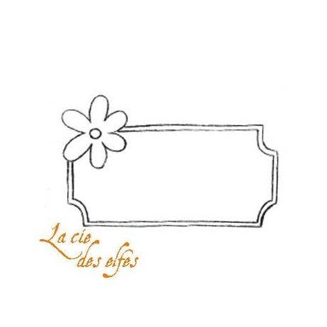 Sketch scrap par Nanou Cadre-fleur-tampon-nm