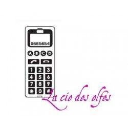 téléphone portable tampon nm
