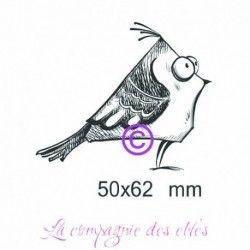 tampon oiseau GM - ref D - non monté