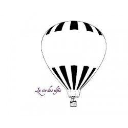 Tampon ballon dirigeable | tampon mariage montgolfière | tampon pour mariage