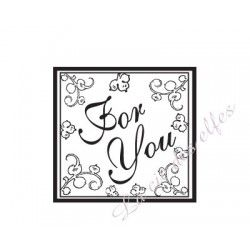 For you rubber stamp | tampon encreur for you