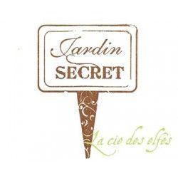 Jardin secret tampon