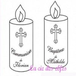 Tampon Communion sur mesure nm