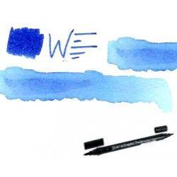 Feutre double pointe bleu 308