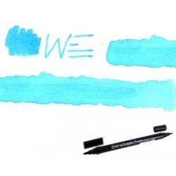 Feutre aquarelle double pointe bleu clair