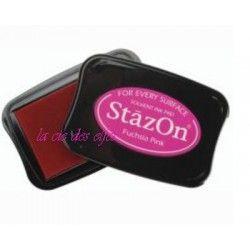 Stazon fushia | acheter encre rose fimo