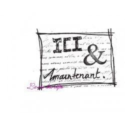 ICI et maintenant tampon nm