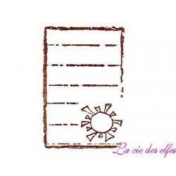 Etiquette journaling | tampon journaling scrapbooking
