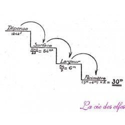 tampon escalier mathématiques nm