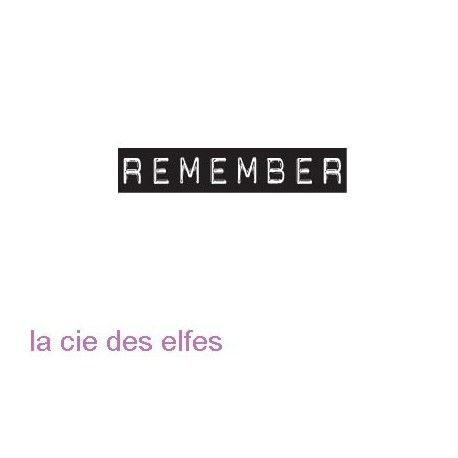 remember stempel | remeber stamp | tampon encreur remember