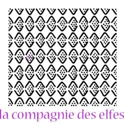 dots stamp | tampon triangle | tampon scrapbooking triangle | tampon scrap dots