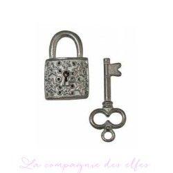 clés et cadenas métal