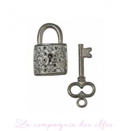 clés et cadenas métal rayher