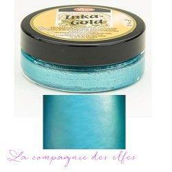 inka turquoise - cire couleur métallique brillante