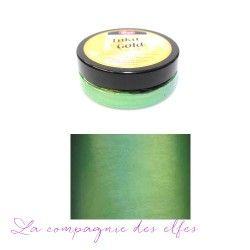 inka gold vert jade - cire couleur métallique brillante