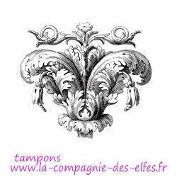 Tampon encreur baroque | baroque rubber stamp | stempel baroque