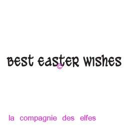 best easter wishes - tampon nm