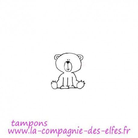 Le kit de Juillet Tampon-kawaii-ourson-non-monte