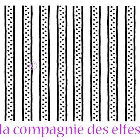 geometric rubber stamp | tampon scrabooking bande | tampon scrapbooking