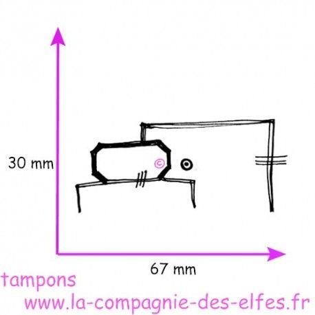 Sketch scrap par Nanou Tampon-etiquettes-en-coin-nm