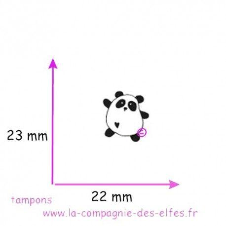 Tampon encreur panda | acheter tampon panda