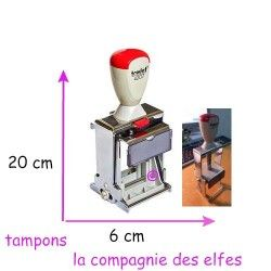 TRODAT 4207 vintage - tampon encreur collection