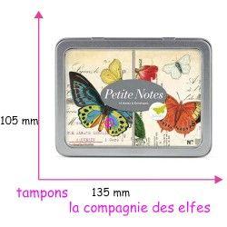 Mini carte postale papillon | carte cavallini