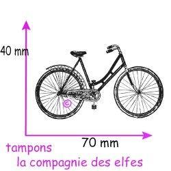 tampon vélo dame - non monté