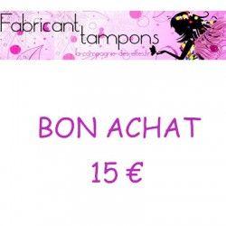 BON ACHAT CADEAU 15 EUROS