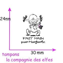 Petite Nana personnalisable tampon NM