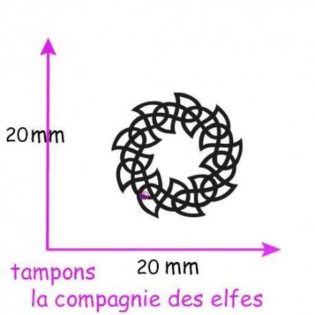 Tampon celte | tampon encreur celtique | tampon scrapbooking celte