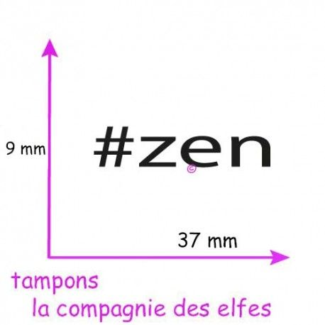 Tampon zen | acheter timbre zen