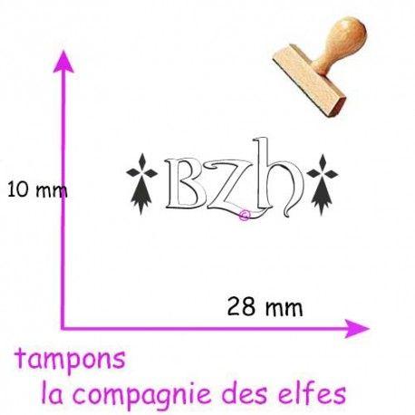 Cachet bzh | timbre bretagne