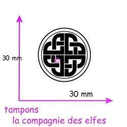 Tampon odin | celtic stamp | tampon encreur breton | tampon encreur celtique