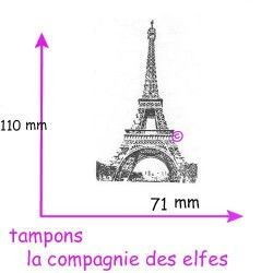 la tour eiffel grand tampon nm