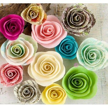 12 fleurs papier prima