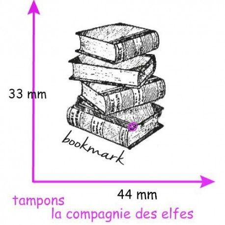 Tampon marque page | bookmark stamp