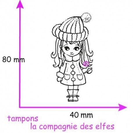 tampon doll |doll rubber stamp