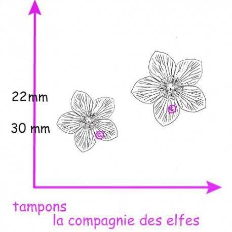 Pocket letter de Cricri en forme de calendrier de l'avent Tampon-hellebore-rose-de-noel-tampon-petit-modele-nm