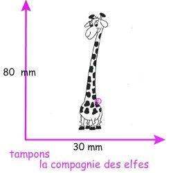 girafe Sophie tampon nm