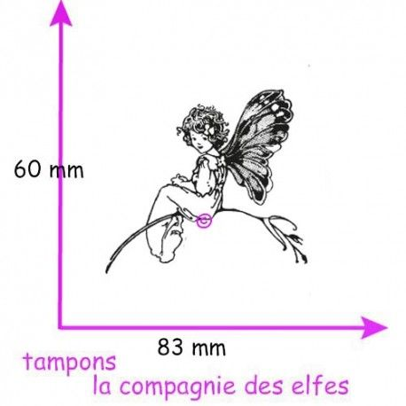 Achat tampon elfe fée