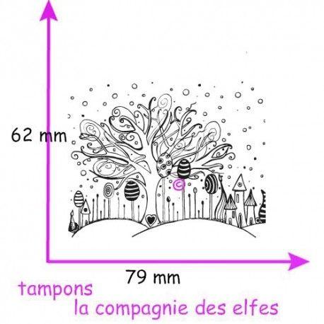 Challenge d'avril Tampon-texture-fond-arbres-non-monte