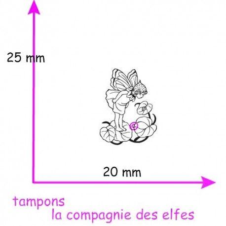Sketch scrap par Nanou Tampon-petit-elfe-fimo-polymere-non-monte