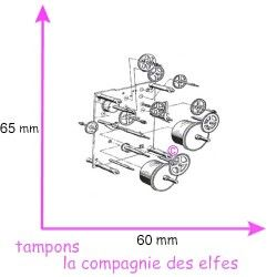 mécanismes horloge montre steampunk tampon nm