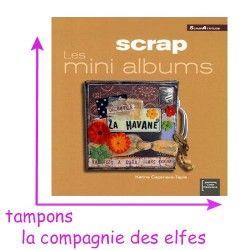 livre mini album scrap avec karine Cazenave Tapie