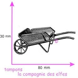 tampon brouette nm