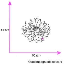 Tampon fleur MARIGOLD nm