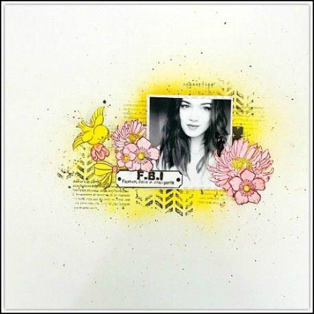 Sketch scrap par Nanou Tampon-fleur-marigold-petit-modele-non-monte
