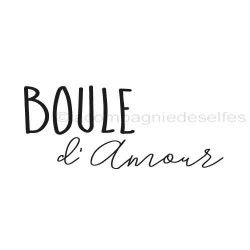 tampon boule d'Amour nm